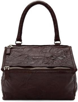 Givenchy Burgundy Small Pandora Bag
