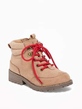Old Navy Sueded Hiker Boots for Toddler Boys
