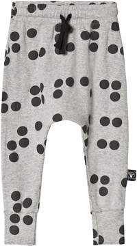 Nununu Heather Grey Braille Print Baggy Leggings