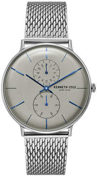Kenneth Cole New York Men's Stainless Steel Mesh Bracelet Watch 41mm