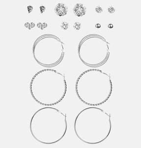 Avenue Cluster Floral Earring Set