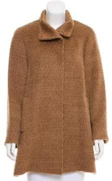 Cinzia Rocca Structured Baby Llama Coat