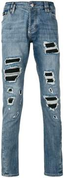 Philipp Plein distressed slim-fit jeans