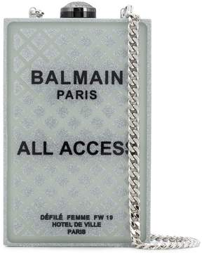 Balmain minaudiere clutch bag