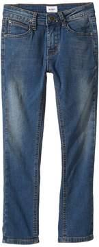 Hudson Jagger Slim Straight - Knit Denim in Beaten Blue Boy's Jeans