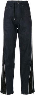Diesel Black Gold jogger style jeans with stripe detail