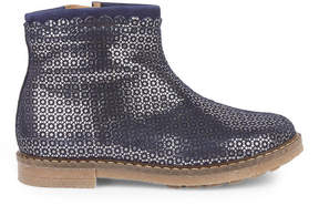 Pom D'Api Printed velvet leather boots