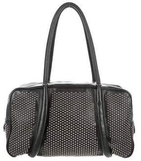 Alaia Studded Leather Shoulder Bag