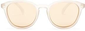 Le Specs Bandwagon round-frame sunglasses