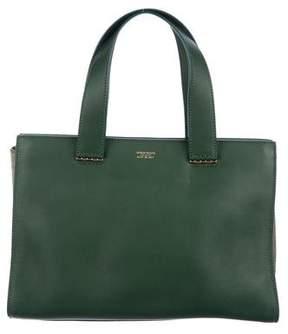 Giorgio Armani Leather Tote Bag