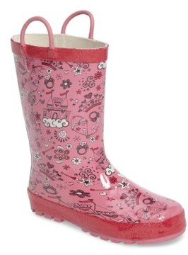 Western Chief Girl's Fairy Tale Rain Boot