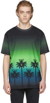 Marcelo Burlon County of Milan Green Palm T-Shirt
