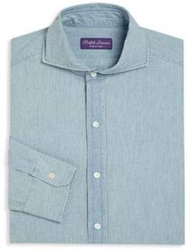Ralph Lauren Purple Label Keaton Regular-Fit Dress Shirt