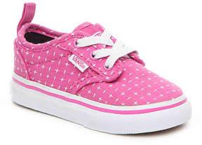 Vans Girls Atwood Textile Infant & Toddler Slip-On Sneaker