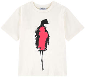 Moschino Loose fit graphic T-shirt