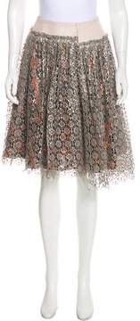 Creatures of the Wind Wool Lace Skirt