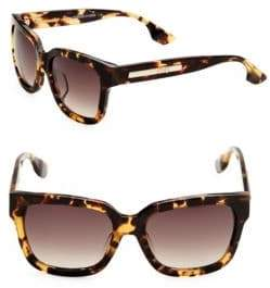 McQ 54MM Square Sunglasses