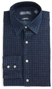 Michael Bastian Men's Dot Denim Dress Shirt