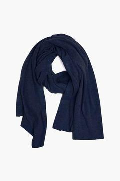 White + Warren Admiral Heather Cashmere Travel Wrap