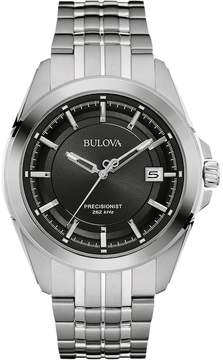 Bulova Men's Precisionist Stainless Steel Watch - 96B252