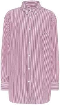 Balenciaga Striped Cotton Shirt