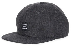 Herschel Men's Albert Donegal Wool Ball Cap - Grey
