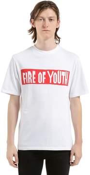 Loewe Printed Cotton Jersey T-Shirt