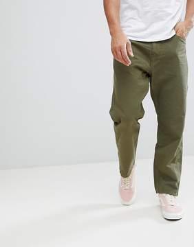 Carhartt WIP Toledo Pant In Regular Straight Fit In Green