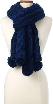 Lands' End Lands'end Women's Aran Popcorn Knit Scarf