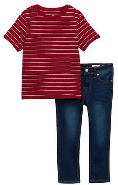 AG Jeans 2-Piece Striped Jersey Shirt Set (Toddler Boys)