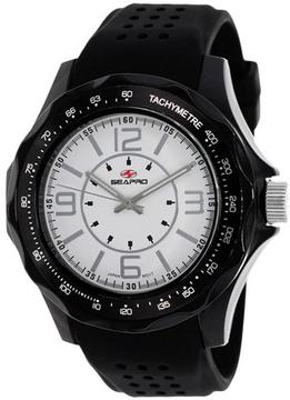 Seapro Dynamic SP4113 Men's Plastic Analog Watch with Tachymeter
