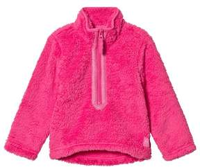 Joules Pink Fleece Half Zip Fleece