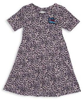 Jessica Simpson Girl's Leopard Dress