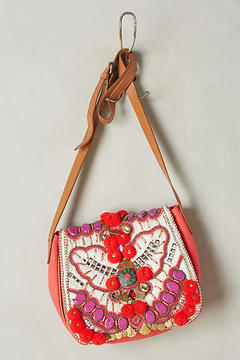 Antik Batik Rouge Koshi Crossbody Bag
