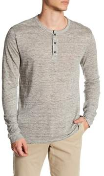 Onia Miles Solid Henley Shirt