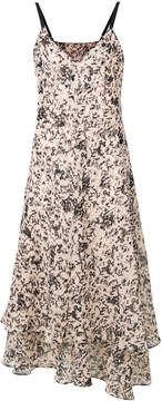 Cédric Charlier printed midi dress