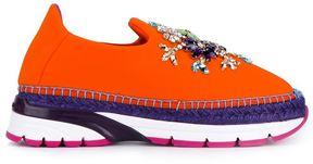 Dolce & Gabbana embellished slip-on espadrilles sneakers