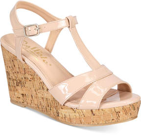 Callisto Aspenn Platform Wedge Sandals Women's Shoes