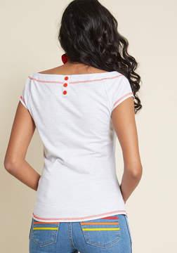 Brilliance+ Asmara International Limited China Bateau Brilliance Knit Top