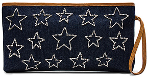 Mystique Star Clutch in Navy.