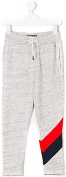 Tommy Hilfiger Junior stripe-trimmed track pants