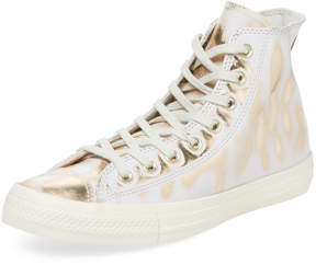 Converse Metallic Leather Hi-Top