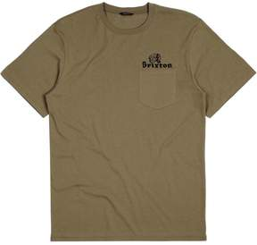 Brixton Tanka II Premium Fit Pocket T-Shirt - Short-Sleeve