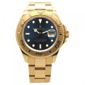 Rolex Blue Gold Watch Yacht-Master