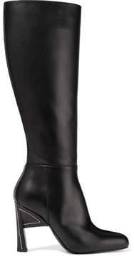 Marni Leather Knee Boots - Black