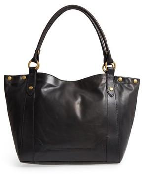 Frye Melissa Leather Shoulder Bag - Black