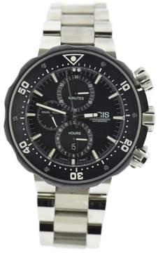 Oris Prodiver Chronograph 7683 Titanium Automatic 47mm Mens Watch