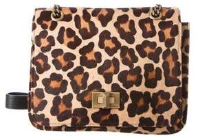 Emilio Pucci Printed Ponyhair Shoulder Bag