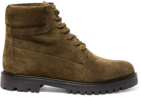 Vince Farley Suede Ankle Boots - Army green
