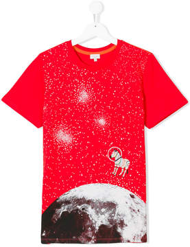 Paul Smith space print T-shirt